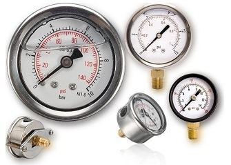 Stainless steel brass Gauges