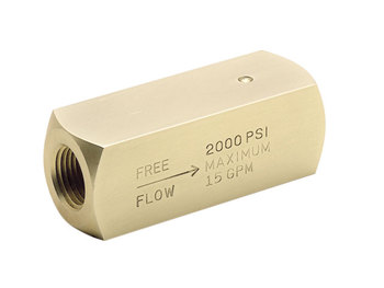C600S20 Colorflow Check Valve - NPT