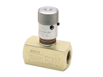 N600B4-V Colorflow Needle Valve - NPT