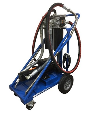 FCU-SF-10-I-40SA-10Q-B1 Portable Hydraulic Filter Cart