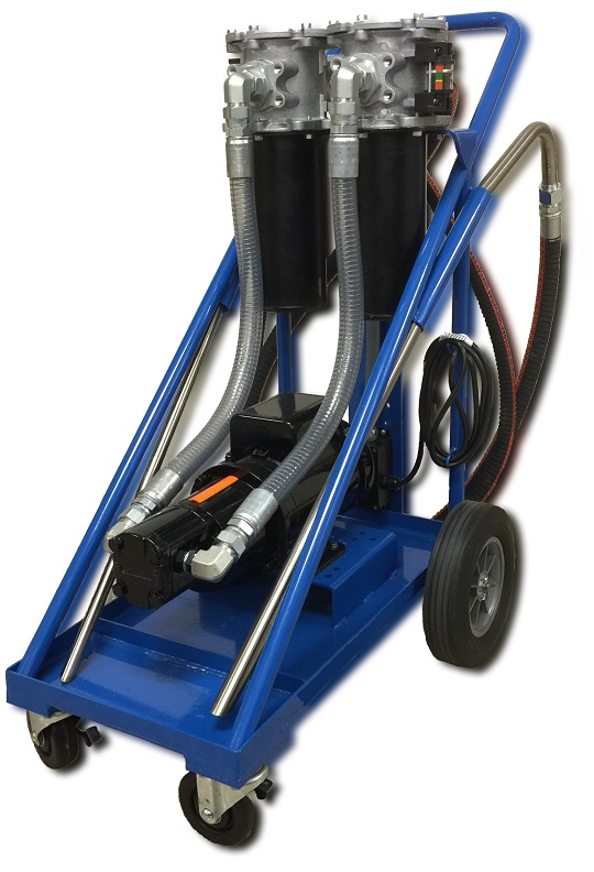 Fluid Hydraulic Filter Cart