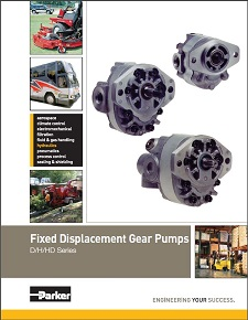 Fixed Displacement Gear Pumps