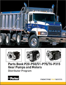 Parker Gear Pumps and Motors