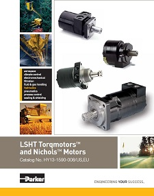 TE Series Torqmotor - Parker LSHT Torqmotors And Nicholos