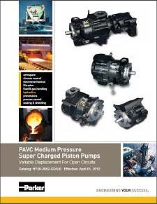 PAVC Series Medium Pressure Super Charged Piston Pumps(Last years design codes)