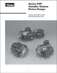 Parker PVP Piston Pumps
