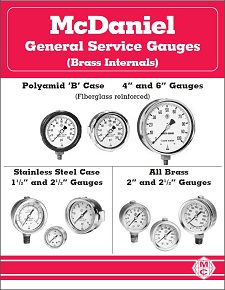 General Service Gauges (Brass Internals)