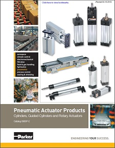 Parker Hannifin Pneumatic Actuator Products
