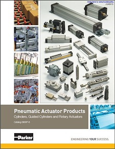 Parker Hannifin Pneumatic Actuator Products-Cylinders