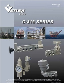 C-316 Stainless Steel Valves