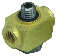 "Adjustable #10-32 ""T"" Fitting - 15002 Series"