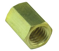 #10-32 Female Hex Coupling - 15004 Series