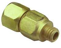 #10-32 Swivel Fitting - 15040 Series