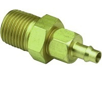 "Barb to 1/8"" Male NPT Swivel - 15055 Series"