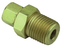 "1/8"" NPT to #10-32 Swivel Adapter - 15060 Series"