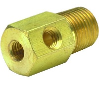 "1/8"" NPT to #10-32 Adapter Fitting - 15090 Series"