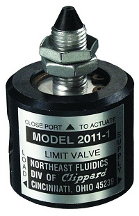 3-Way Piloted Limit Valve - 2011 Series