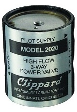 3-Way Pressure Piloted Valve - 2020 and 2021 Series