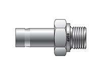 A-LOK Inch Tube BSPP Tube End Male Adapter - MA R