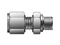 A-LOK Metric Tube BSPP Male Connector - MSC