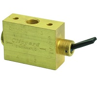 "Toggle 1/8"" NPT Spool Valve - FTV Series"