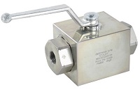 High-Pressure 12000 PSI Ball Valve