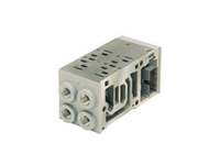 H-ISO HA Series End Ported Base Manifold/Subbase - BSPP