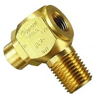 J-Series Quick Exhaust Valve - 1/8 Female 1/4 Male