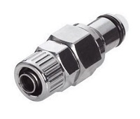 In-Line Ferruleless Polytube Insert Fitting, PTF - LC Series