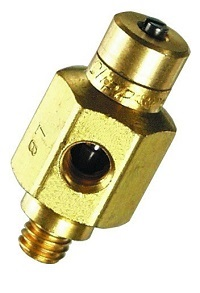 15° Needle Valve, #10-32 Screwdriver Slot