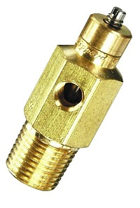 "15° Needle Valve, 1/8"" NPT Screwdriver Slot"