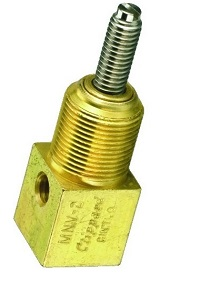 5° Needle Valve, #10-32 Screwdriver Slot