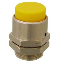 Clippard Extended Captivated Push Button - PC-3E