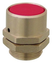 Clippard Flush Captivated Push Button - PC-3F