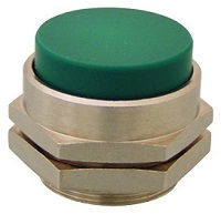 Clippard Extended Captivated Push Button - PC-4E