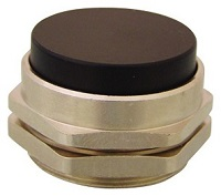 Clippard Extended Captivated Push Button - PC-5E