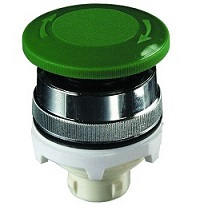 Clippard Automatic Push/Turn Mushroom 30mm