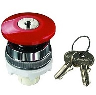 Clippard Push Key Mushroom 30mm
