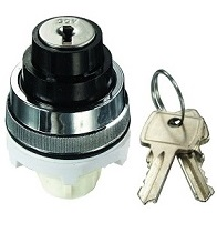 Clippard Key Twist 90° Maintained 30mm