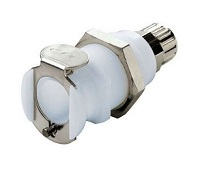 Panel Mount Ferruleless Polytube Fitting, PTF Body - PLC Series