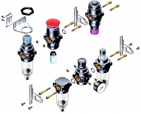 Spares and Replacement Parts- Modular FRL