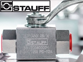 Stauff Ball Valve - 2BVL2032BS