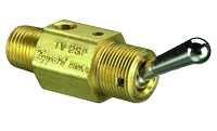 Toggle Spool Valve with Detented Actuation - TV Series