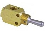 "Toggle 1/8"" NPT Valve - TV Series"