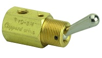 Toggle Spool Valve with Momentary Actuation - TVO Series