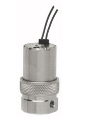 EW-3M-24 3-Way Wire Leads Top (Axial) Valve - EW Series