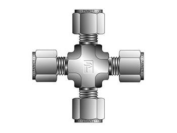 4ECR4-S A-LOK Inch Tube Union Cross - ECR