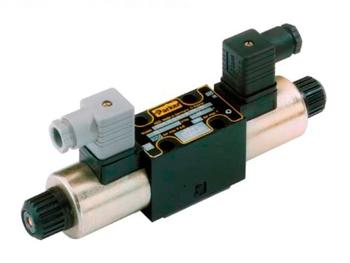 D1VW020BNYW D1VW Series - Single solenoid, 2 position, spring offset P > A