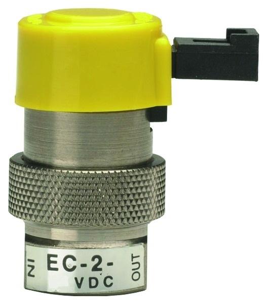 """EC-2-12 2-Way 0.025"""" Pin Connector Valve - EC Series"""