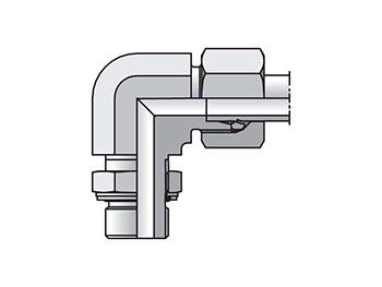WEE25ZSMCF EO/EO-2 90° Elbow, Adjustable - WEE-M